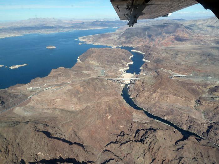 Gran Cañón del Colorado. Presa Hoover. Arizona