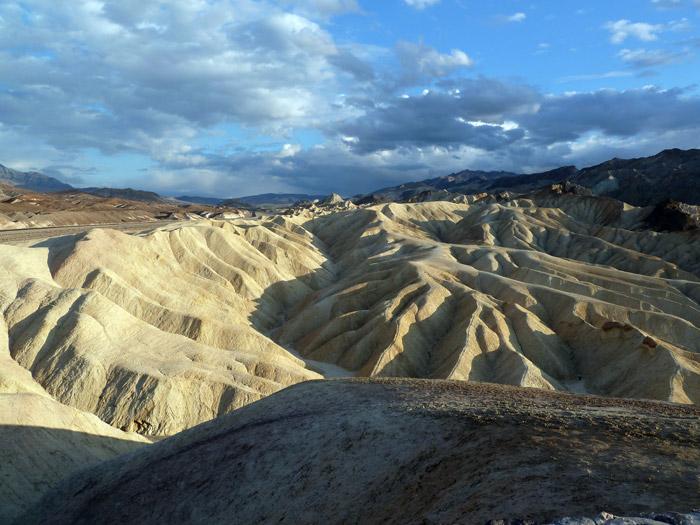 El Valle de la Muerte. Parque Nacional.