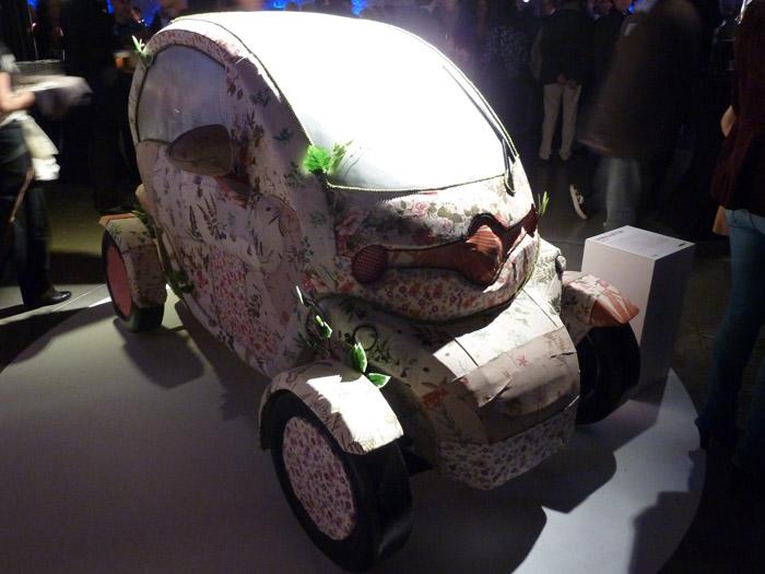 Renault Twizy. Exposición de arte. Gabriela Bettini