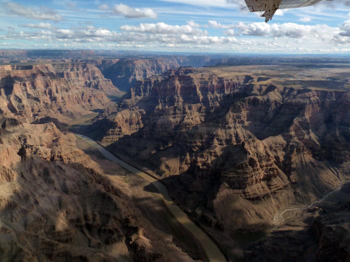 Gran Cañón del Colorado. Nevada. Río Colorado