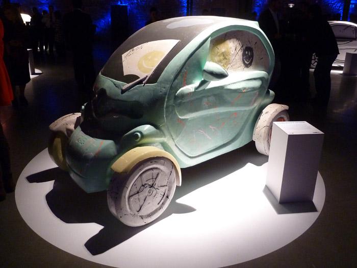 Renault Twizy. Exposición de arte. Txema Maraví