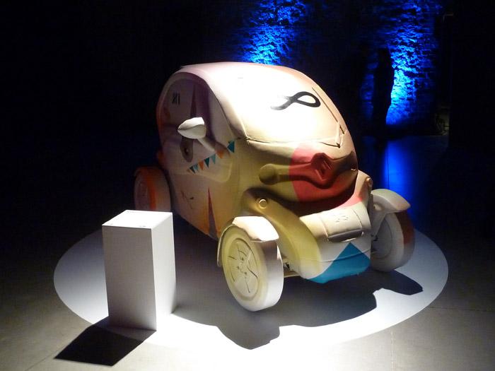 Renault Twizy. Exposición. Matadero de Madrid. Nano4814