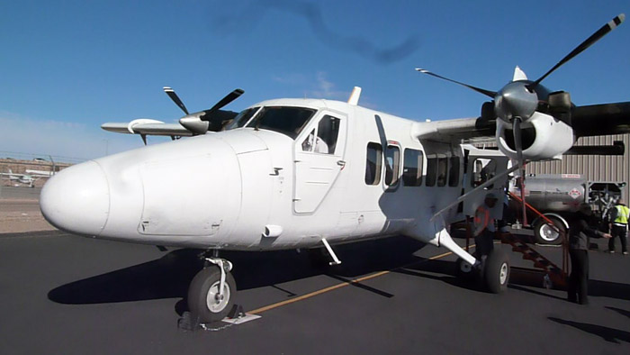 Gran Cañón del Colorado. Arizona. Avioneta. Aeródromo