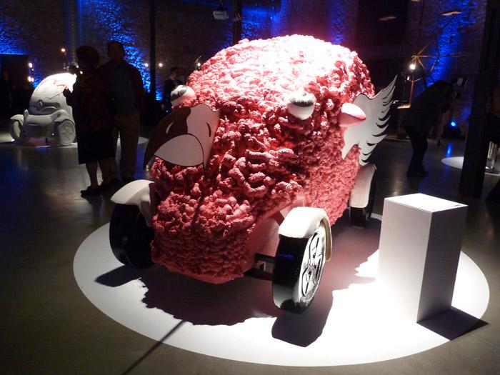 Renault Twizy. Exposición. Matadero de Madrid. Francoise Vanneraud. Cerebro a la fuga