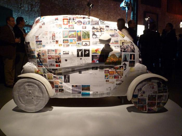 Renault Twizy. Exposición. Matadero de Madrid. Javier Lozano. Autopromocion
