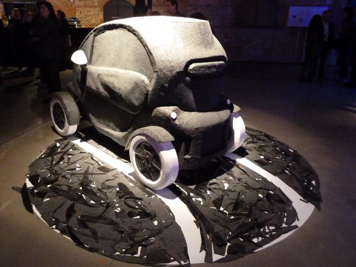 Renault Twizy. Exposición. Matadero de Madrid.
