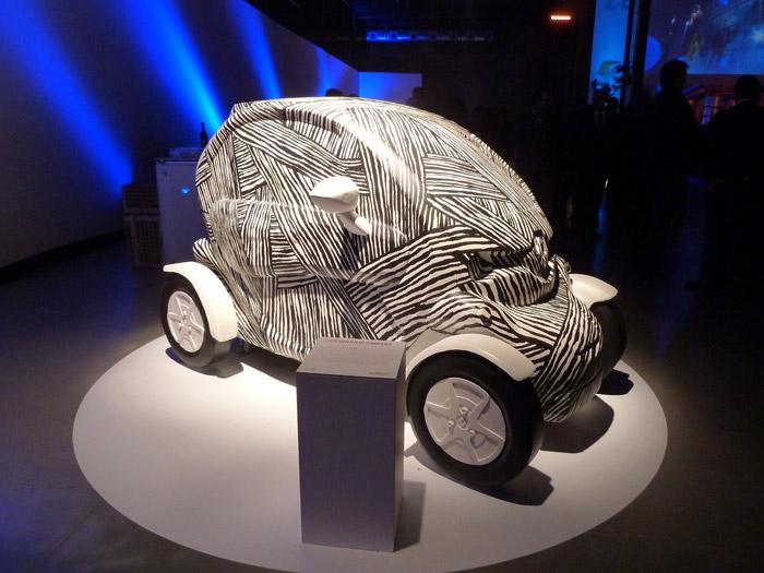 Renault Twizy. Exposición. Matadero de Madrid. Luis Úrculo