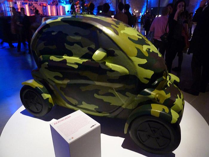 Renault Twizy. Exposición. Matadero de Madrid. Julio Falagán