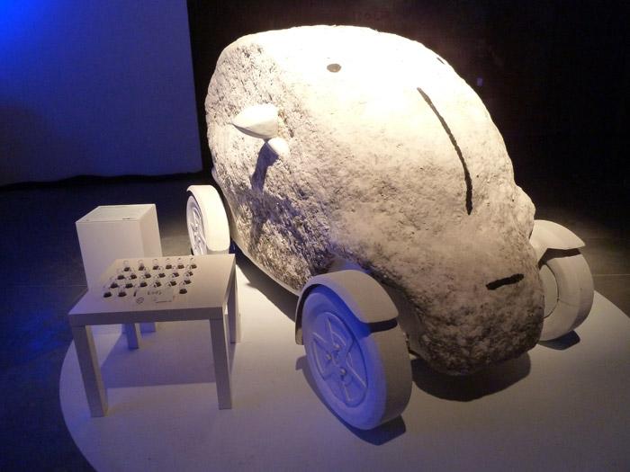 Renault Twizy. Exposición. Matadero de Madrid. Monoperro. Ego: Un coche animista urbano