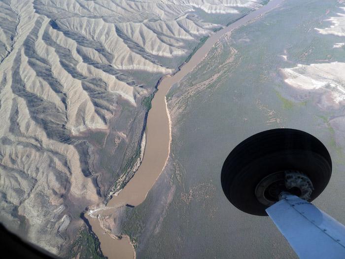 Gran Cañón del Colorado. Arizona. Río