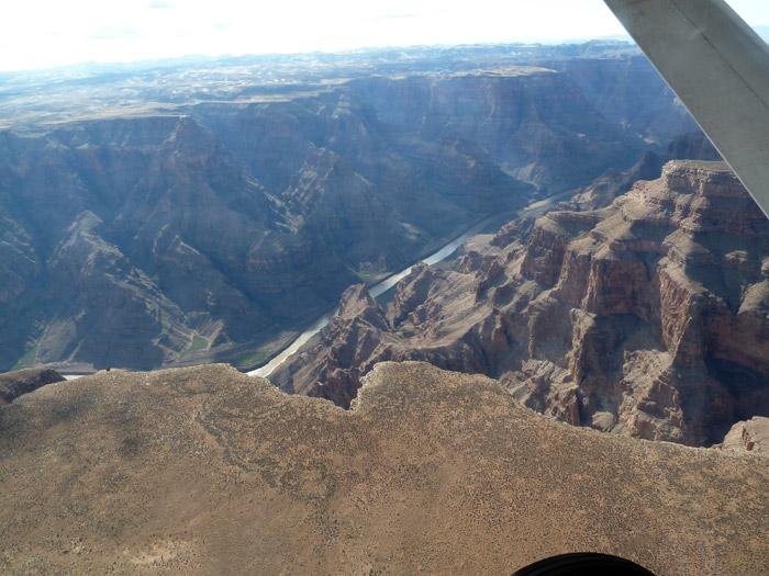 Gran Cañón del Colorado. Vistas desde una avioneta