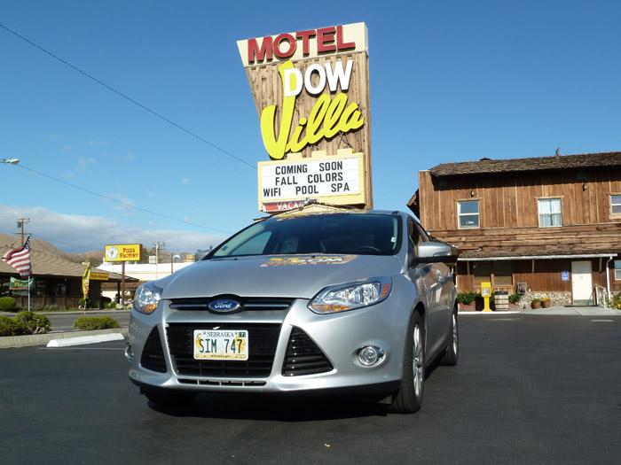 Lone Pine. California. Ford Focus