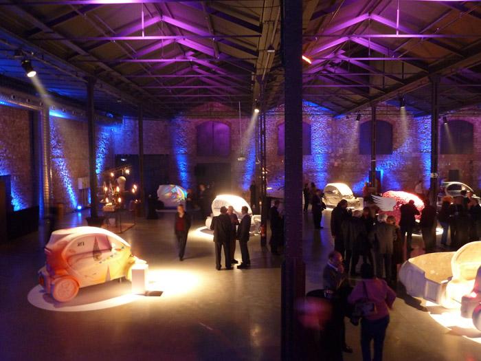 Renault Twizy. Exposición de las 20 maquetas del Twizy a escala real