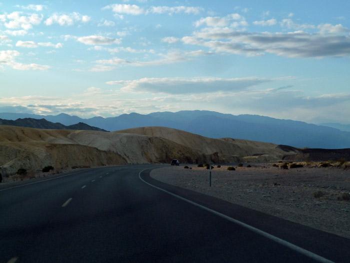 El Valle de la Muerte. California. Paisaje