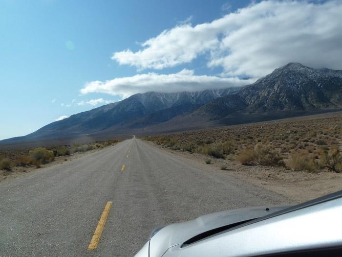 Lone Pine. Tioga. California. Montañas