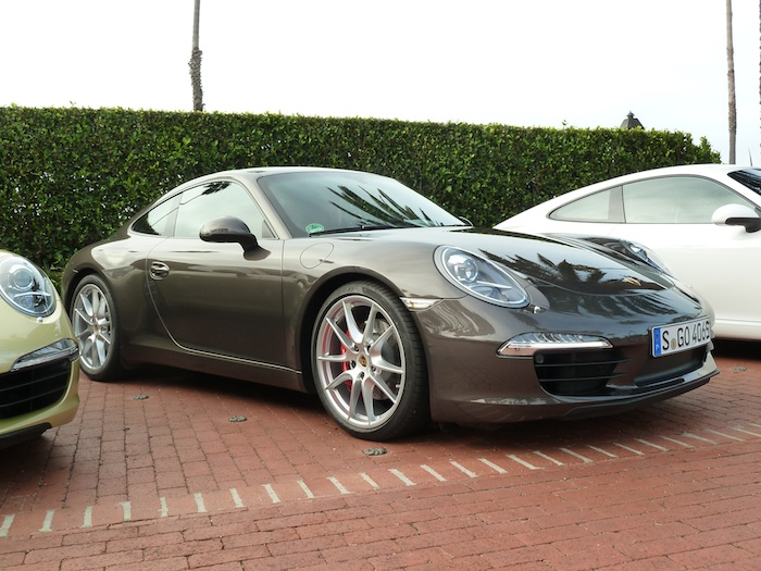 Porsche 911. (991) Anthracite Brown Metallic