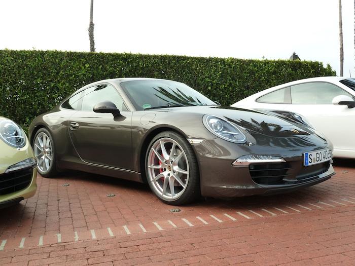 Porsche 911. (991) Anthracite Brown Metallic