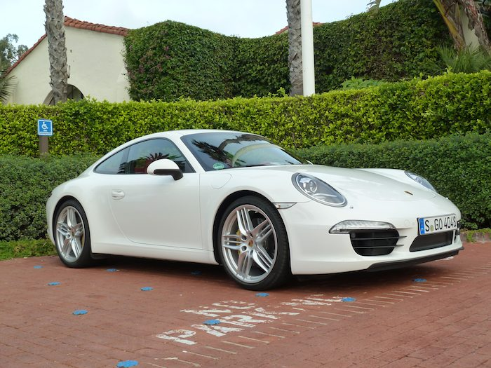 Porsche 911 (991) Model Year 2012 Carrara White