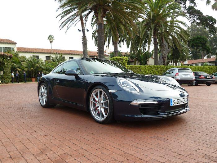 Porsche 911 (991) Year 2012. Dark Blue Metallic