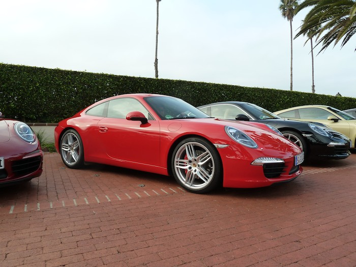Porsche 911 (991) Year 2012. Guards Red