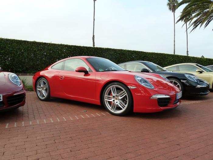 Porsche 911 (991) Year 2012. Guards Red