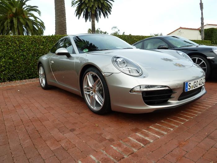 Porsche 911 (991) Year 2012. Platinum Silver Metallic