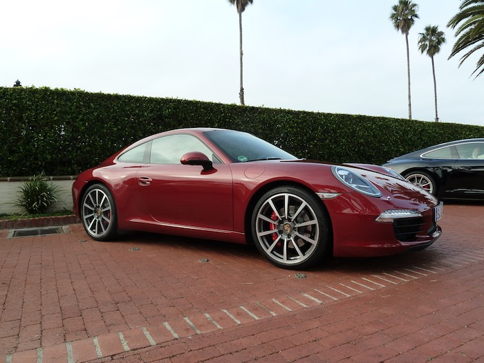 Porsche 911 (991) Model Year 2012. Ruby Red Metallic