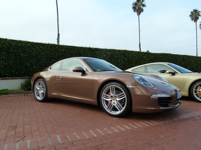 Porsche 911.  Código 991. Año 2012 Cognac Metallic