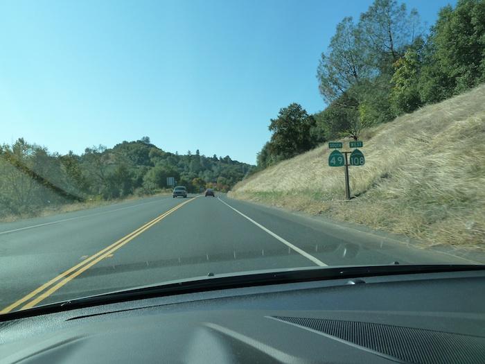 EE.UU. Dos carreteras en una. USA two roads in one