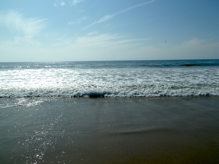 Oceano Pacifico. Playa de Santa Monica.