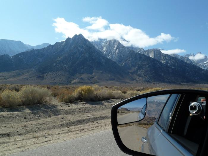 Lone Pine Mountains. Sierra del Mount Whitney,