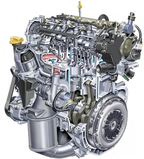 Opel Astra ecoFLEX 1.3-CDTi 95 CV. Motor
