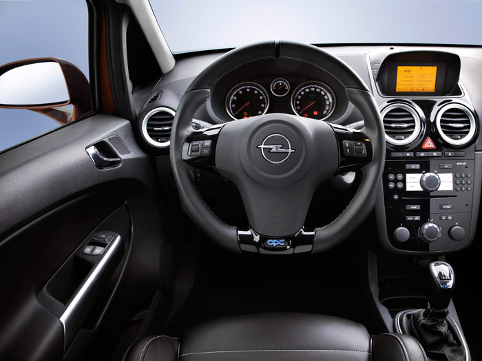 "Opel Corsa OPC ""Nürburgring Edition"". Interior"