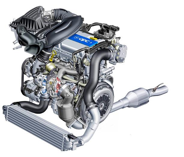 "Opel Corsa OPC ""Nürburgring Edition"". Motor"