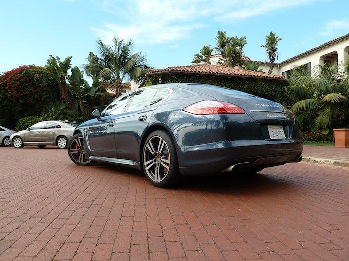 Porsche Panamera TurboS - hotel Biltmore four Seasons Santa Barbara