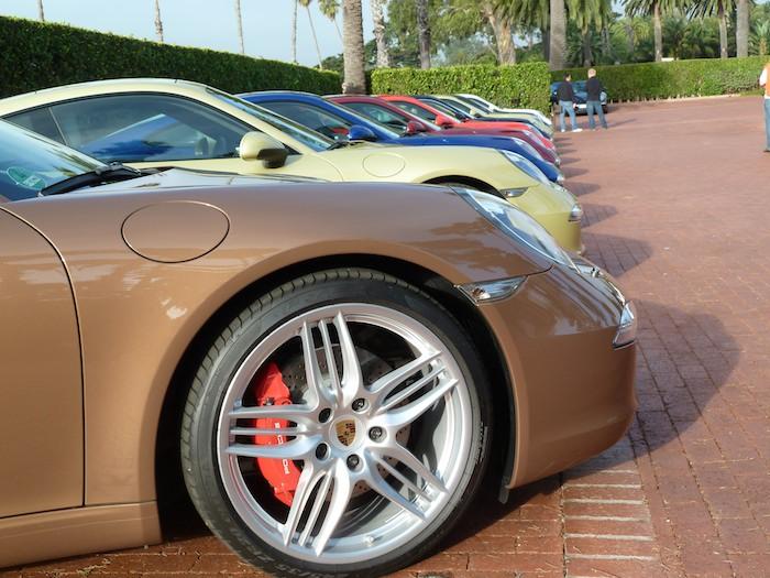 Porsche 911 (991). Colores para todos.