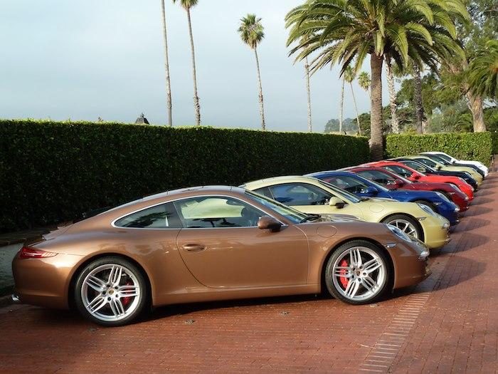 Porsche 911. Código 991. Colores y mas colores.Año 2012