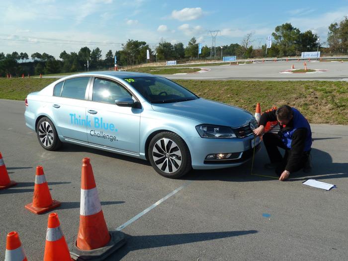 Volkswagen Think Blue Challenge. Circuito Castellolí. Passat