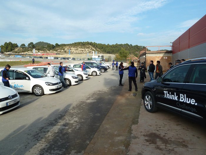 Volkswagen Think Blue Challenge. Participantes. Circuito de Castellolí