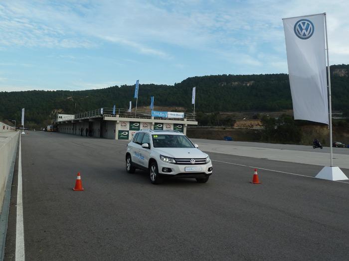Volkswagen Think Blue Challenge. Pruebas Touran