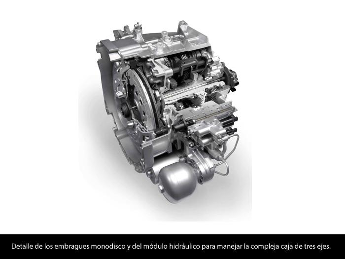 Alfa-Romeo MiTo 1.4-TB MultiAir TCT. Caja de cambios