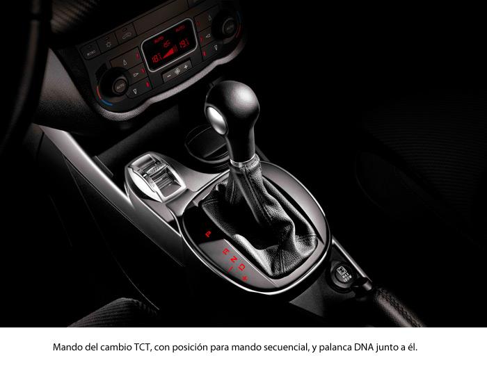 Alfa-Romeo MiTo 1.4-TB MultiAir TCT. Palanca de cambios automática