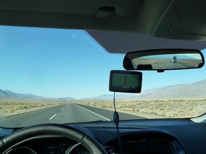 California. 395 Road