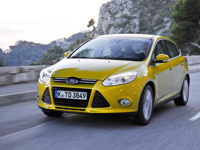 Ford Focus 2.0-TDCi 163 CV Titanium. Frontal
