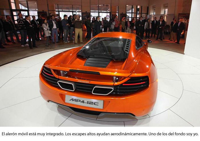 ¿Un McLaren MP4-12C?: ¡ni en sueños! Alerón