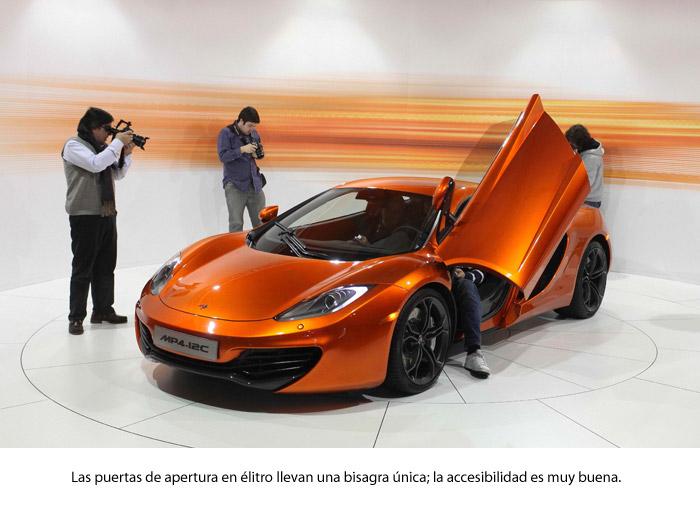 ¿Un McLaren MP4-12C?: ¡ni en sueños!. Puertas