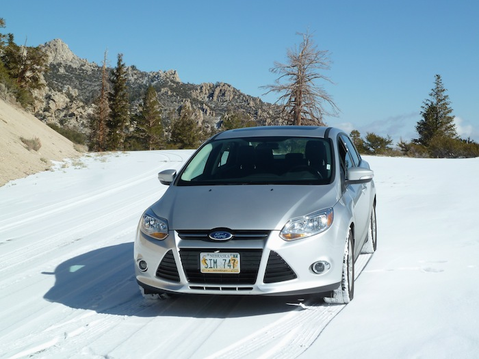 Ford Focus. Nieve Snow