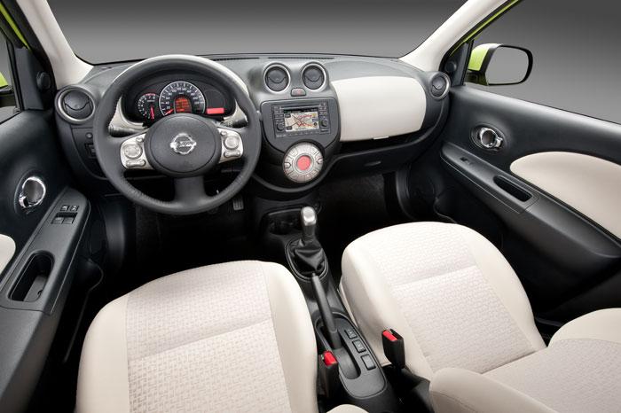 Prueba de consumo (77): Nissan Micra 1.2 DIG-S 98 CV. Interior