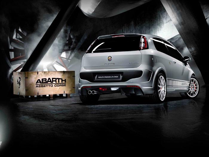Abarth Punto Evo 1.4 TB Kit SS. Tres cuartos trasero