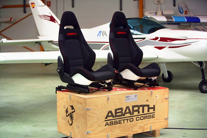 Abarth Punto Evo 1.4 TB Kit SS. Asientos tipo backet